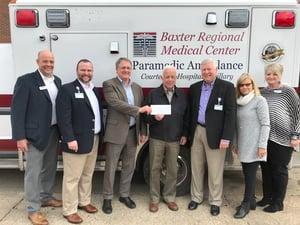 Ritter Communications $50000 Baxter Hospital