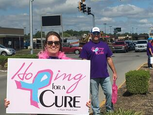 Hoping for a cure 2019