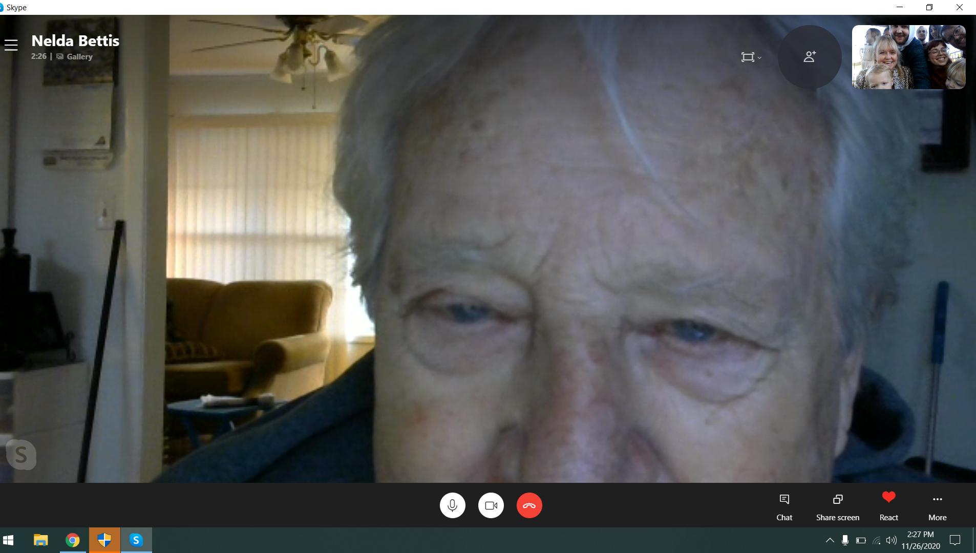 Grandma on Cam