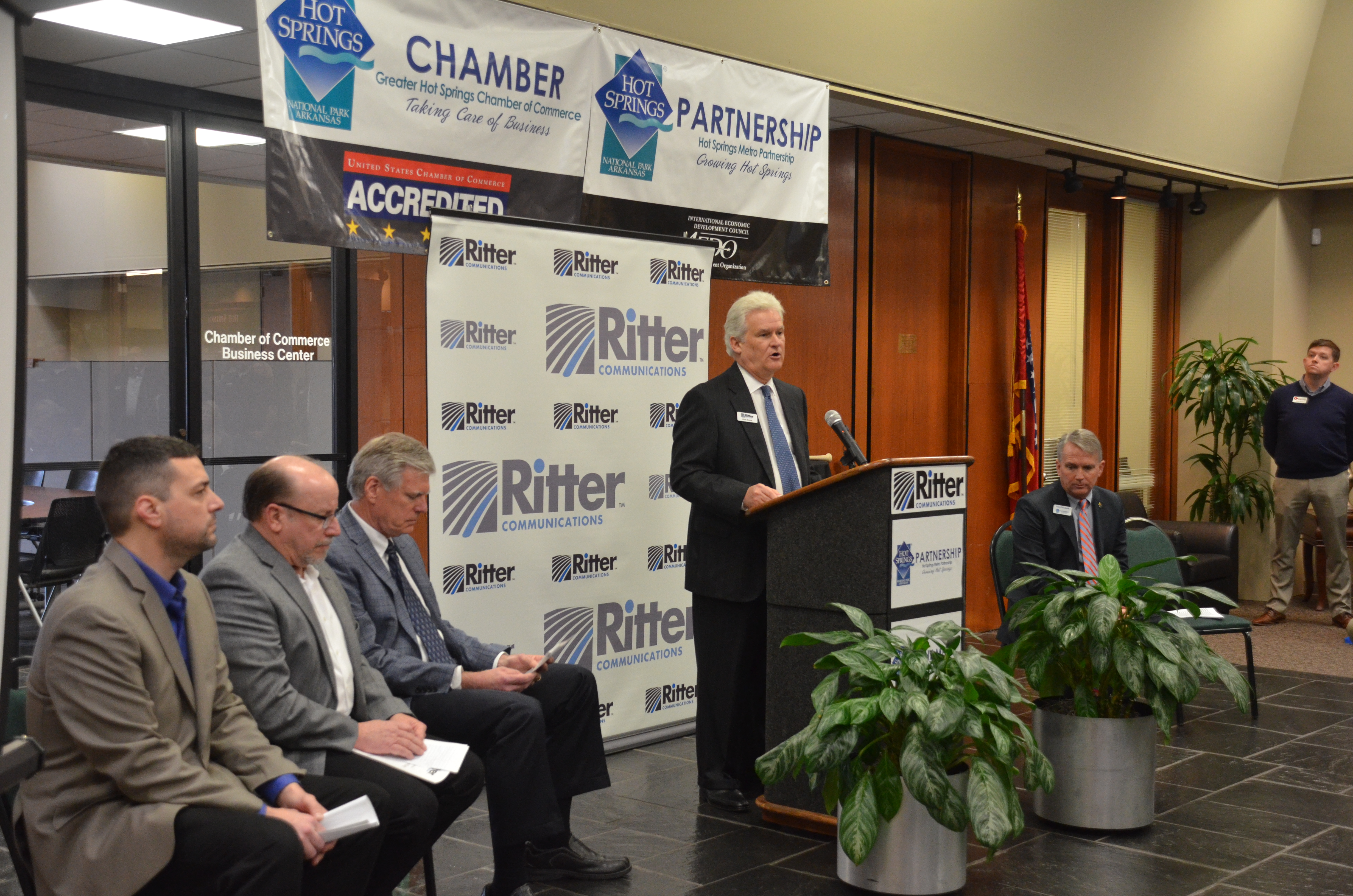 Hot Springs Ritter Communications Press Conference
